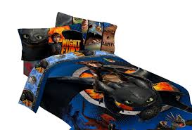 Toddler Train Bed Set by 4pc Dream Works How To Train Your Dragon Twin Bedding Set Hiccup