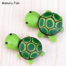 imagenes tortugas verdes dibujos animados mini resina tortugas verdes 3d animal miniatura