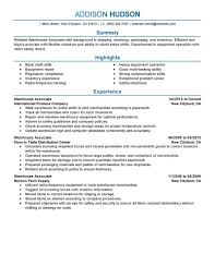 exles of federal resumes 2 warehouse resume exles exles of resumes