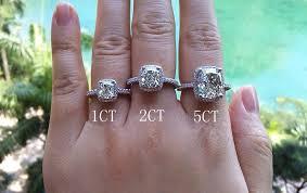 2 carat cushion cut engagement ring cushion cut engagement rings no halo 2 carat lake side corrals