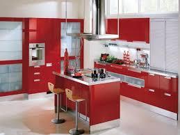 Red Kitchen Decorating Ideas Kitchen Cabinet Beautiful Red Kitchen Cabinets Red Kitchen