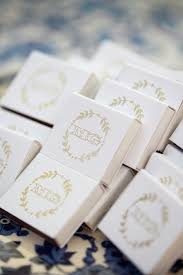 wedding favor matches monogrammed matches wedding favors elizabeth designs the