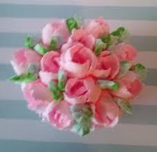 shabby cottage fake cupcake roses marie antoinette home decor