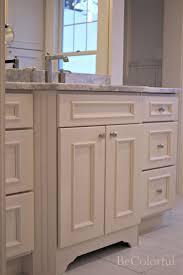 spotlight master bathroom renovation with top knobs chareau