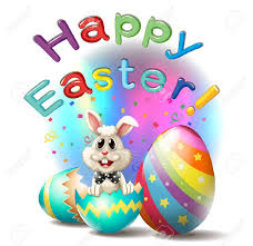 happy easter camping mar estang