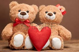 valentines bears valentines day word heart teddy bears in embrace