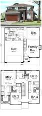 House Plans With Garage 23 Perfect Images Home Plan Design Free Fresh In Popular Narrow