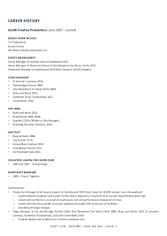 bar resume exles generous stagehand resume exles ideas exle resume and