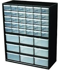 Drawer Storage Cabinet Amazon Com Stack On Scr 40 40 Drawer Storage Cabinet Red Home