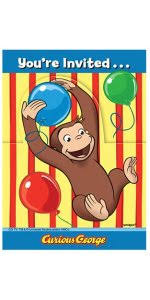 curious george party curious george party hats 8ct toys