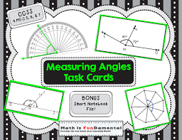 4th grade measuring angles task cards set of 32 ccss 4 md c 5