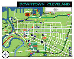 Map Of Northeast Ohio by Cleveland Downtown Hotels The Ohio Connection