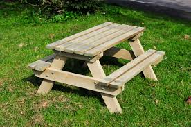 childrens wooden picnic bench xnt cnxconsortium outdoor dma