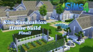 the sims 4 kim kardashian house build house tour final