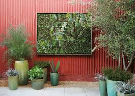 garden garden on the wall