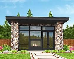 plan 85105ms tiny modern house plan with lanai modern house