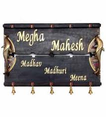 Designs For Name Mahesh Handcrafted Name Plate With Dhokra Warli Design Inspiration Images