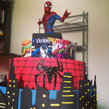 spiderman cake pop stand my skill set pinterest cake pop