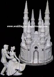 cinderella castle cake topper wedding fairytale dreams lighted cinderella castle cake topper