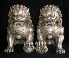 yellow foo dogs13th birthday ideas fu dogs i d put them at my front door they are traditionally