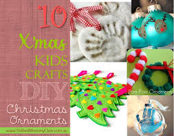 craft diy reindeer thumbprint ornaments