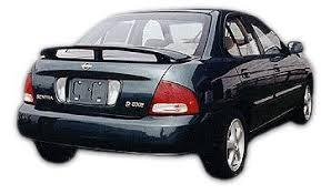 amazon com nissan sentra rear spoiler 2000 2001 2003 2004 2005