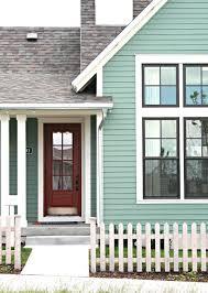 Exterior Color Schemes by Shabby Mint Cottage Shabby Mint Cottage Pinterest