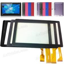 android screen repair touch screen for tagital 7 inch allwinner a13 q88 android tablet pc