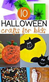 10 halloween crafts for kids the kindergarten connection