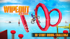 wipeout bike rider free app for your phone android app store