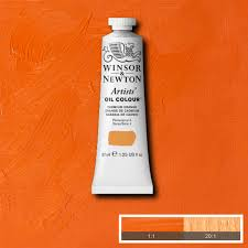 artists u0027 oil colour cadmium orange winsor u0026 newton john crump