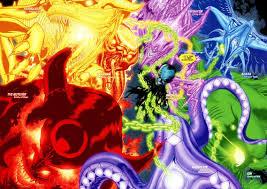 All the colours  Emotional Spectrum  Comic Vine
