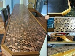 Diy Wood Kitchen Countertops by Diy Homemade Countertops Ideas Home Inspirations Design