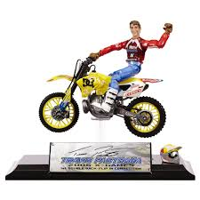 motocross toy bikes travis pastrana mxs collector series dirt bike toy on popscreen