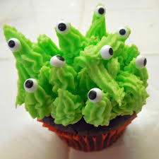 Halloween Monster Cakes by Halloween Monster Cupcakes