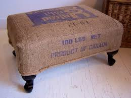 storage ottoman slipcover furniture formalbeauteous burlap grain sack ott homespunstyle