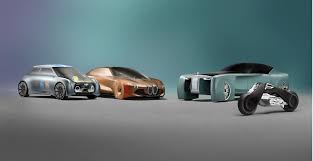 futuristic cars bmw futuristic bmw motorrad and the vision next 100 vehicles