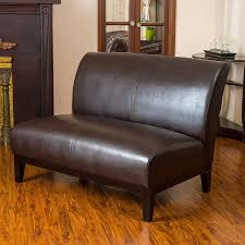 shop best selling home decor darcy casual brown faux leather