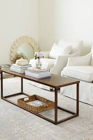 9 details you may have missed from our fall catalog how to decorate super narrow coffee table from suzanne kasler s collection for ballard designs