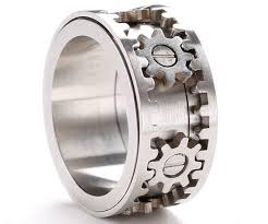 gear wedding ring gears ring