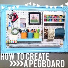 Pegboard Ideas by How To Create Pegboard Organization Decorate My Life
