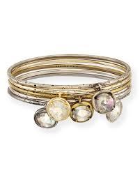 bria gold link bracelet in iridescent kendra scott