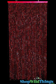 Pink Hanging Door Beads by Making The Unique Decoration By Using The Beaded Curtains