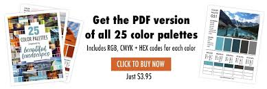 beautiful colors hex 25 color palettes inspired by beautiful landscapes inspiring