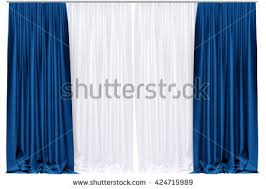 Blue Silk Curtains Silk Curtain Stock Images Royalty Free Images U0026 Vectors