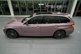 rose gold car rose bmw individual 328d wagon has over 37 000 in optional
