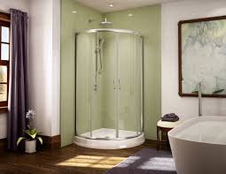5 tips for a champagne shower on a beer budget unique curved acrylic shower base and glass enclosure system