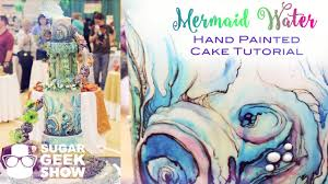 mermaid wash cake for ncacs youtube