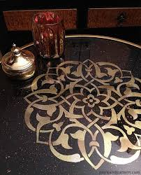 Glass For Table Tops 53 Best Glass Mirror Stenciling Images On Pinterest Mirrors