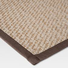 natural twill kitchen mat rug threshold target